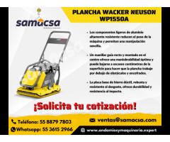 Plancha vibratoria Wacker Neuson