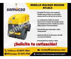 Rodillo Wacker Nueson