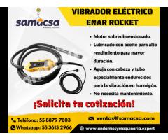 Vibrador Rocket eléctrico