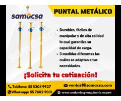 Puntal de metal