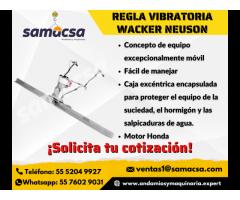 Regla Vibratoria Marca Wacker Neuson