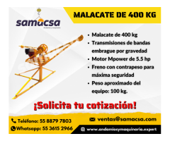 Malacate integral 500 kg