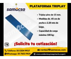 Plataforma Triplay