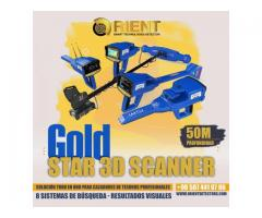 Gold Star 3D Scanner Detector de Metales
