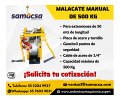 Samacsa manual para hamaca