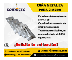 Samacsa Cuña metálica