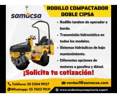 Rodillo compactador doble Cipsa Mod. AR18