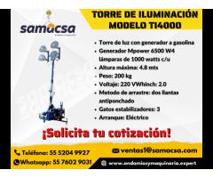 Samacsa Torre de iluminación