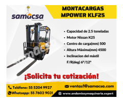 Samacsa Montacargas Mpower