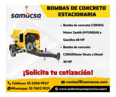 Samacsa Bombas de concreto