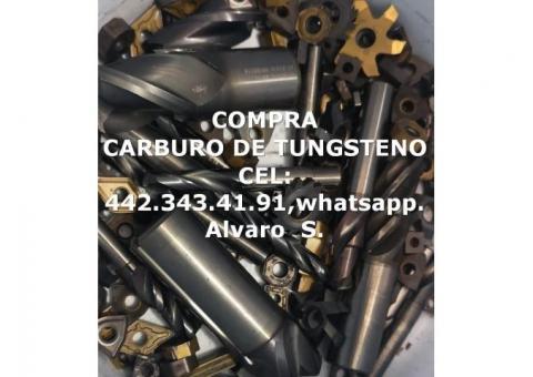 COMPRA CARBURO DESPERDICIO EN AGUASCALIENTES