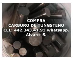 COMPRA HERRAMIENTA DE CARBURO DE TUNGSTENO POR KILO