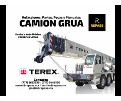 Refacciones para Camión Grúa Terex
