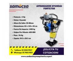 Apisonadora Hyundai Forte 750