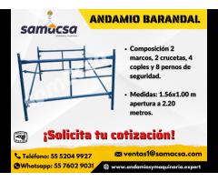 Andamio barandal Samacsa