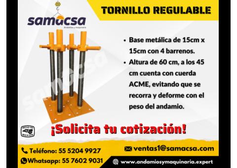 Tornillo regulable Samacsa