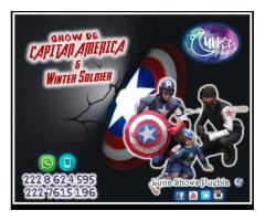 SHOW DE CAPITAN AMERICA Y WINTER SOLDIER