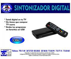 SINTONIZADOR DIGITAL DE TV