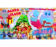 Santa Claus para Eventos Navideños en la Ciudad y estado de México