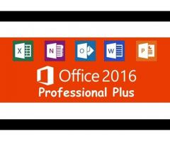 Licencia para Office 2016 Pro Plus