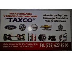 REFACCIONARIA Y SERVICIO AUTOMOTRIZ TAXCO