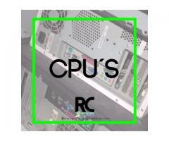 Recicladora de equipos de computo