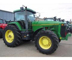 tractor agricola john deere 8100