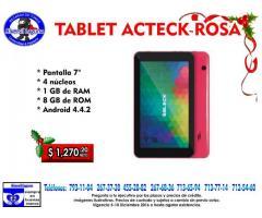TABLET ACTECK ROSA