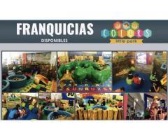 Franquicia Infantil Colors Little Park