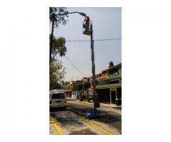 RENTA DE PLATAFORMA DE GENIE DE 9-10M ( AWP – 30S)ELEVACION PERSONAL