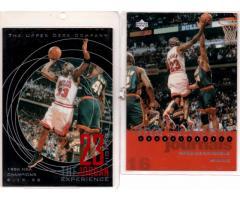 COLECCIÓN DE TARJETAS BASKET NBA 80s 90s y MICHAEL JORDAN