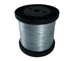 Bobina De 500 Metros De Cable De Aluminio / Para Cercas Electrificadas