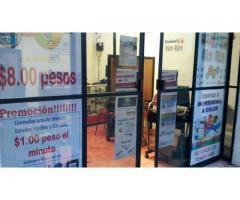 Traspado Ciber Cafe, Aclientado y funcionando al 100%