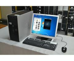 Computadoras Core2Duo Ram-4Gb Dd-160Gb Lcd-17 Quemador