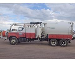 camion vactor marca guzzler modelo2432 limpiadrenajes