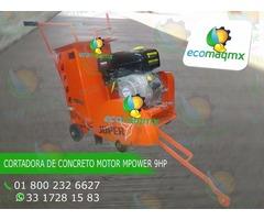 Cortadora de Concreto Joper Con Motor Mpower 9 Hp