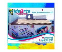 Idearte Publicidad (Lonas, Impresión, Viniles, Tarjetas De Presentación, Invitaciones...Etc.)
