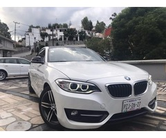 BMW 2 220 IA SPORT LINE COUPE L4/2.0 COLOR BLANCO 2015