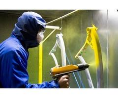 pintura elctrostatica / maquila de pintura en polvo en morelia