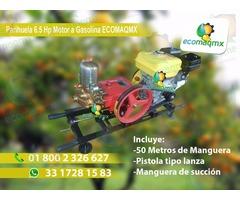 Parihuela Fumigadora Con Motor 6.5 HP Ecomaqmx