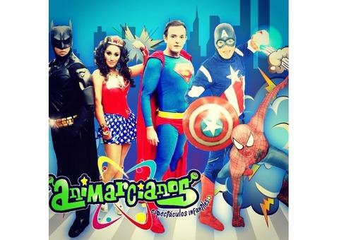 SHOW DE SUPER HEROES