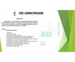 Curso 8D CRC-Centro de capacitacion