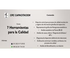 CURSO 7 HERRAMIENTAS PARA LA CALIDAD