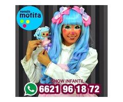 Show de Payasita en Hermosillo Fiesta Infantil
