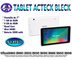 TABLET ACTECK BLECK
