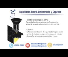 Capacitación DC3 STPS Seguridad en las actividades soldadura y corte