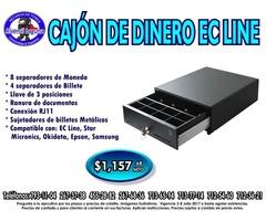 CAJÓN DE DINERO EC LINE