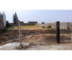 Hermoso Terreno Plano En Fraccionamiento Zona Ahuatepec