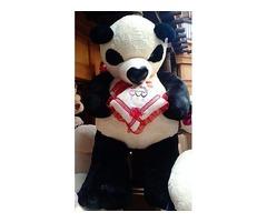 Oso panda de peluche Gigante, altura de 2.00 m, personalizado para cualquier evento especial…