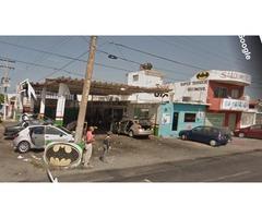 Terreno en esquina y avenida transitada ideal para franquicias o edificios